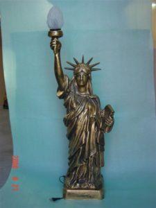B226a.szobor lámpával